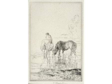 Etching Blampied - The Cooling Stream