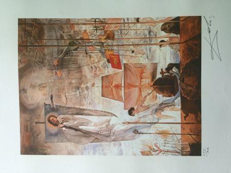 Lithograph Dali - THE DISCOVERY OF AMERICA