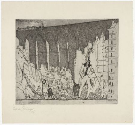 Etching Feininger - The Disparagers
