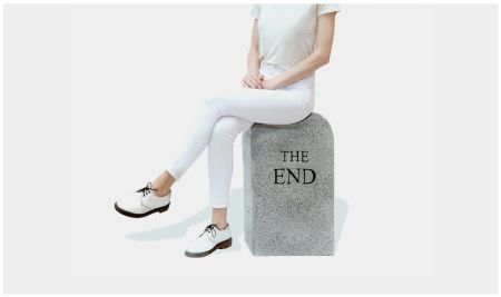 No Technical Cattelan - The End (granite)