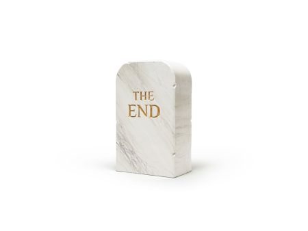 No Technical Cattelan - The End (marble)