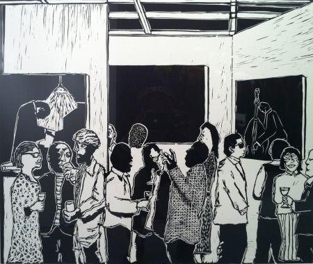 Linocut Nhlengethwa - The Exhibition Launch