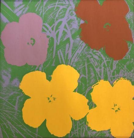 Screenprint Warhol - The Flowers