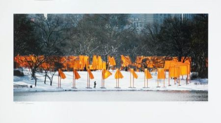 Photography Christo - The Gates Rondell