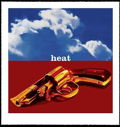 Screenprint Huart - The Heat Goes on