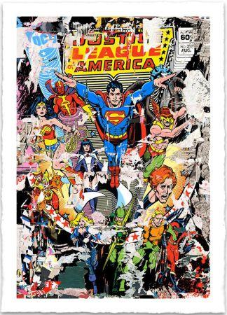 Screenprint Mr. Brainwash - THE HEROES