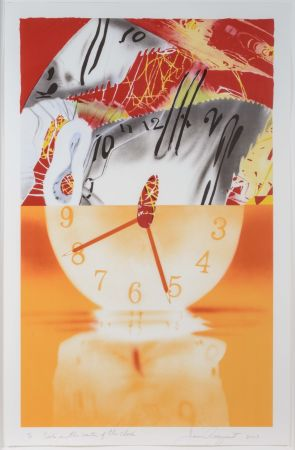 Lithograph Rosenquist - The Hole in the Center of the Clock