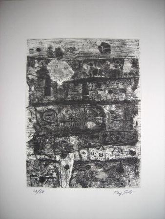 Engraving Sato - The international avant garde 2