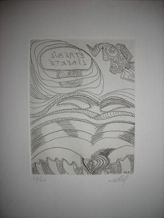 Engraving Lebel - The international avant garde 2