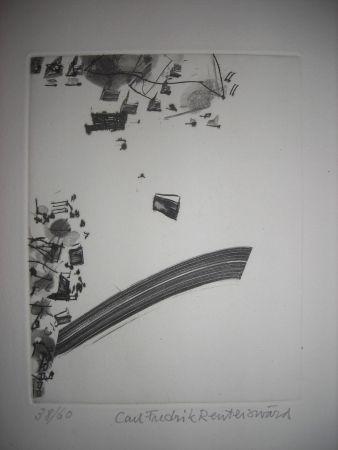 Etching And Aquatint Reuterswaerd - The international avant garde 2