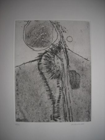 Etching And Aquatint Vielfaure - The international avant garde 2