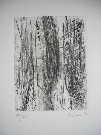Engraving Scanavino - The international avant garde 4