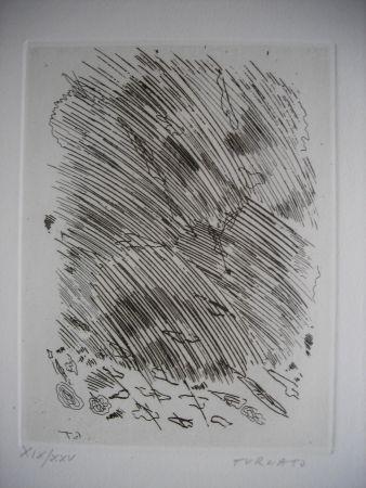 Engraving Turcato - The international avant garde 4