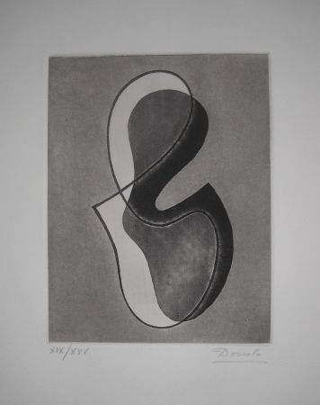 Etching And Aquatint Domela - The international avant garde 4