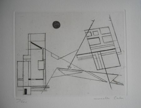 Engraving Cahn - The international avant garde 4