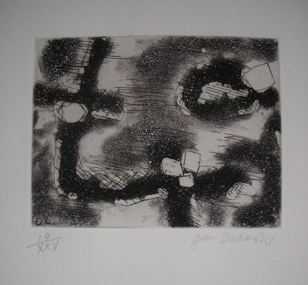 Etching And Aquatint Dobashi - The international avant garde 4