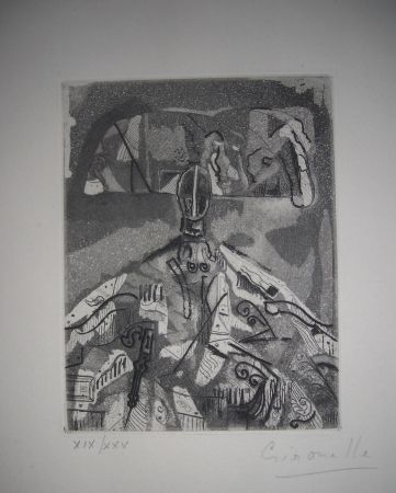 Etching And Aquatint Gironella - The international avant garde 4