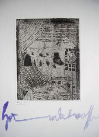 Engraving Hundertwasser - The international avant garde 4