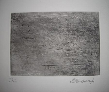 Etching And Aquatint Mansouroff - The international avant garde 4