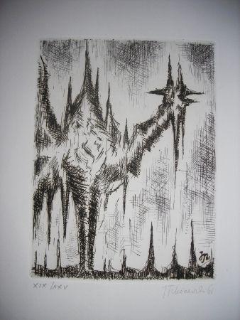 Engraving Tchorzewski - The international avant garde 4