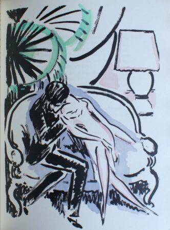 Pochoir Van Dongen - The Kiss