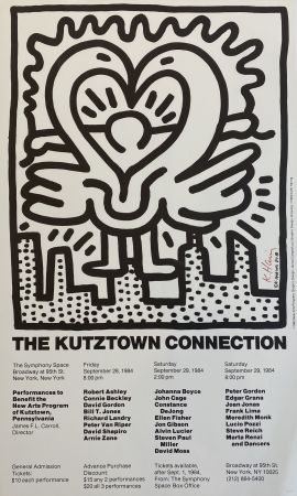 Screenprint Haring - The Kutztown Connection