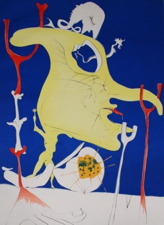 Etching Dali - The last corner of the last Planet