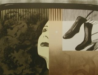 Lithograph Rosenquist - The light that won't fail i