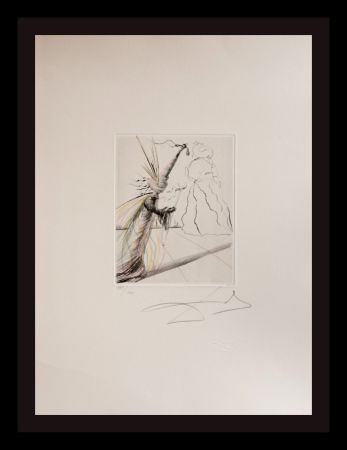Etching Dali - The Magicians L'Illusioniste