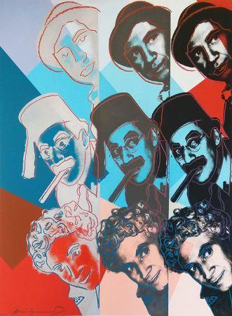 Screenprint Warhol - THE MARX BROTHERS FS II.232