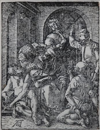 Woodcut Durer - The Mocking of Christ (The Small Passion), 1612