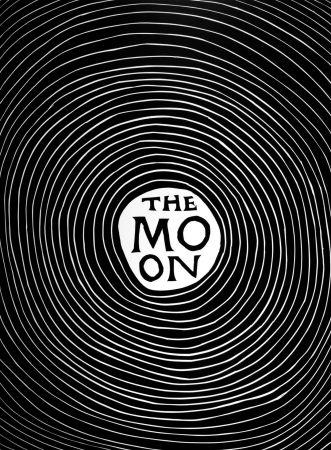 Linocut Shrigley - The Moon