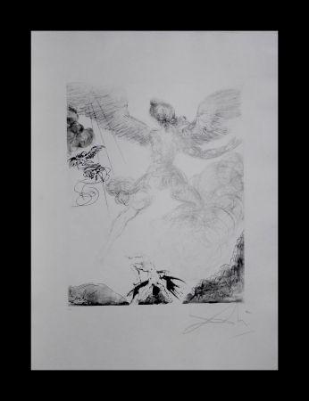 Etching Dali - The Mythology Icarus
