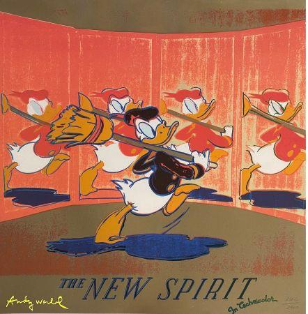 Offset Warhol - The New Spirit (Donald Duck),