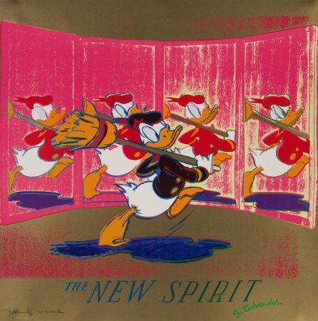 Screenprint Warhol - The New Spirit (FS II.357)