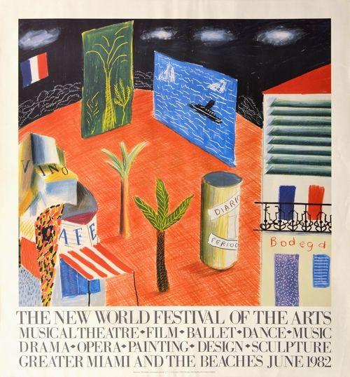 No Technical Hockney - The New World Festival of the Arts, Miami