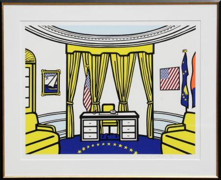 Screenprint Lichtenstein - The Oval Office