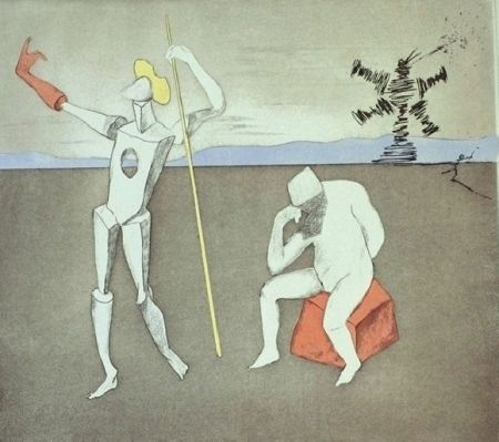 Etching And Aquatint Dali - The Power of Thought