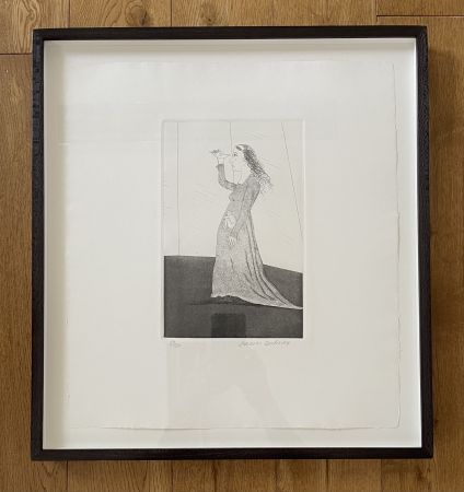 Etching And Aquatint Hockney -  The Princess Searching