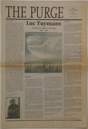 Illustrated Book Tuymans - The Purge – schilderijen / Bilder / Paintings 1991 - 1998