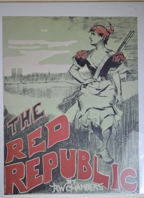 Lithograph Chambers - The Red Republic