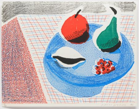 No Technical Hockney - The Round Plate