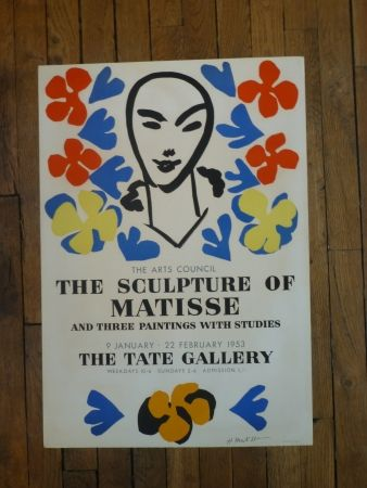 Poster Matisse - The sculpture of Matisse,Tate Gallery