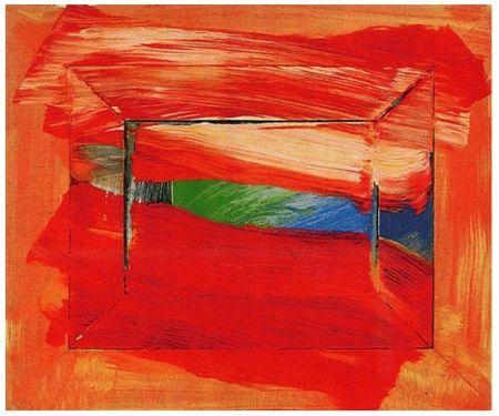 Screenprint Hodgkin - The Sky's the Limit, 2003
