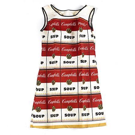 Screenprint Warhol - The Souper Dress
