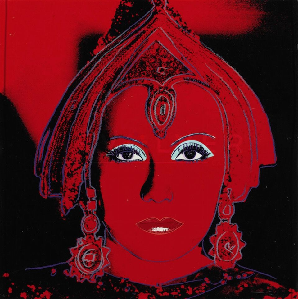 Screenprint Warhol - The Star (FS II.258)
