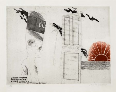 Etching And Aquatint Hockney - The Start of the Spending Spree