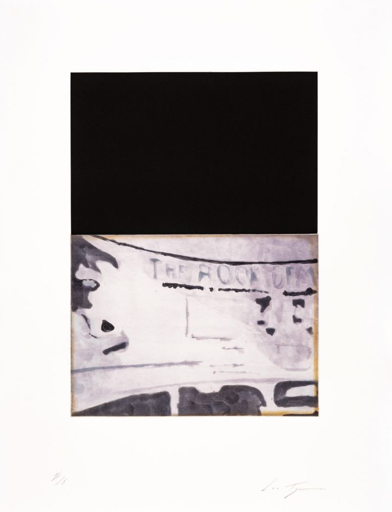 Aquatint Tuymans - The Temple 07