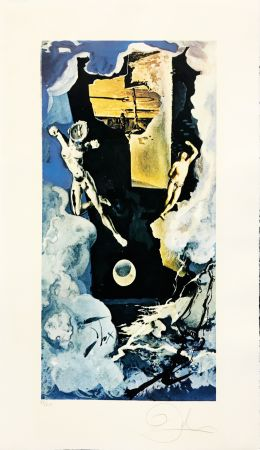 Lithograph Dali - THE TOWER