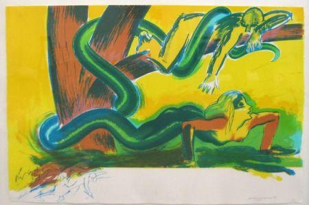Lithograph Jones - The tree